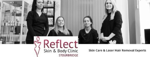 Reflect Skin and Body Clinic Logo